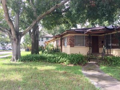Single Family Home For Sale: 3602 W Azeele Street