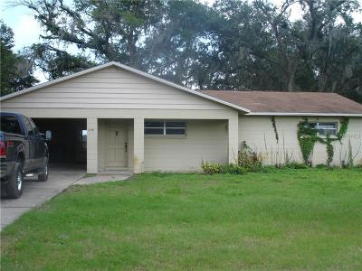 Plant City Single Family Home For Sale: 2701 Keene Campbell Road