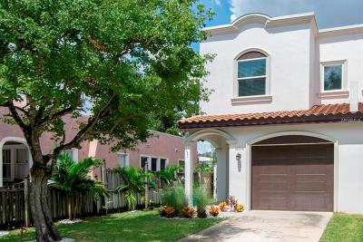 Tampa Townhouse For Sale: 3203 W Santiago Street #A