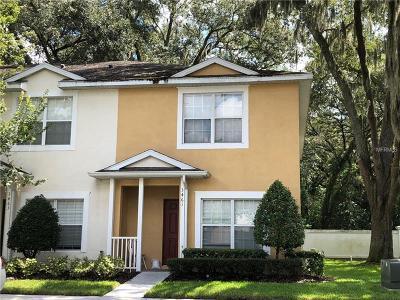 Tampa Townhouse For Sale: 3461 High Hampton Circle