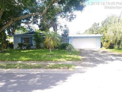 Bradenton Single Family Home For Sale: 2004 39th Street W