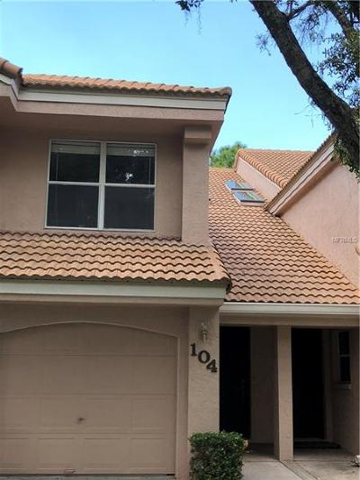 Oldsmar Townhouse For Sale: 104 Clays Trail