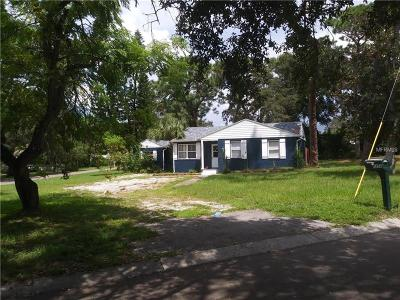 Clearwater Single Family Home For Sale: 1350 Admiral Woodson Lane