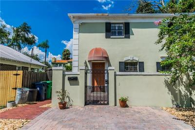 Tampa Single Family Home For Sale: 3407 W Empedrado Street #A
