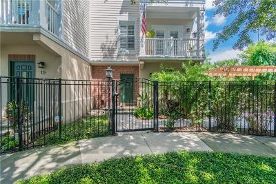 Tampa Townhouse For Sale: 2442 W Mississippi Avenue #18