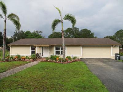 Land O Lakes Single Family Home For Sale: 7428 Moffitt Road