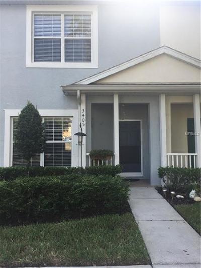 Tampa Townhouse For Sale: 3405 High Hampton Circle