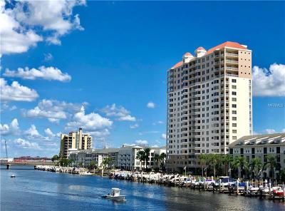 Hillsborough County Condo For Sale: 371 Channelside Walk Way #1801