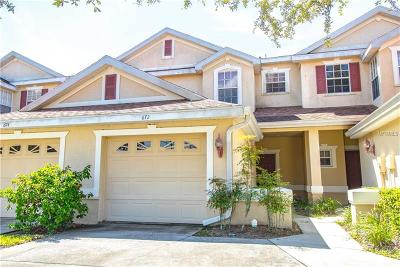 Hernando County, Hillsborough County, Pasco County, Pinellas County Townhouse For Sale: 672 Spring Lake Circle
