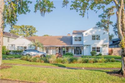 Orlando Single Family Home For Sale: 3806 N Lake Orlando Parkway