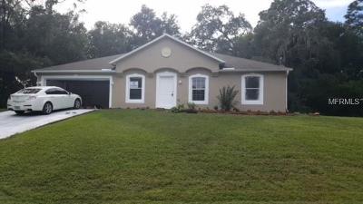 Citrus Springs Single Family Home For Sale: 8420 N Sarazen Drive