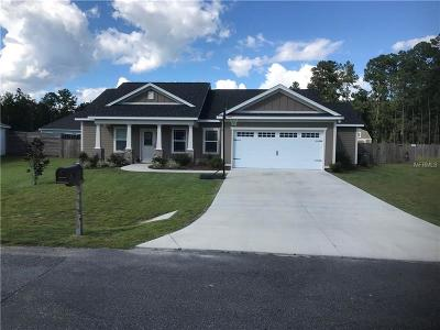 Crawfordville Single Family Home For Sale: 151 Carousel Circle