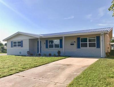 New Port Richey Single Family Home For Sale: 4003 Sail Drive