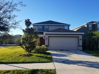 Ruskin Single Family Home For Sale: 6402 Trent Creek Drive