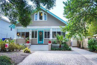 Tampa Single Family Home For Sale: 3216 W San Pedro Street