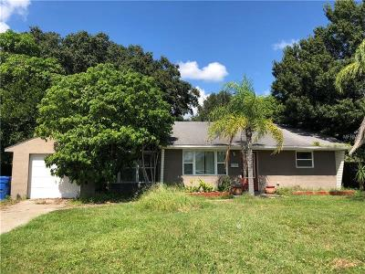 St Petersburg Single Family Home For Sale: 1104 Winchester Road N