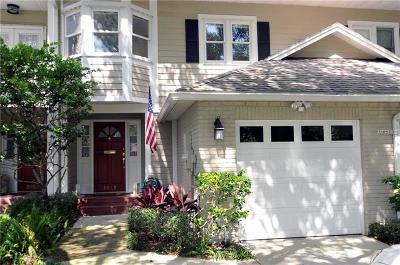 Tampa Townhouse For Sale: 3019 W Bay Villa Avenue