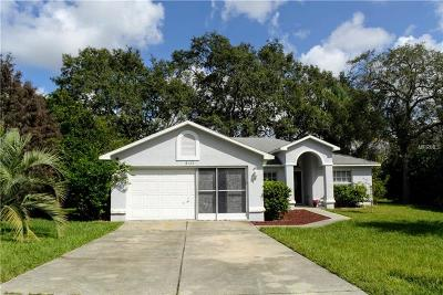 Spring Hill, Spring Hill(pasco), Springhill Single Family Home For Sale: 8103 Rhanbuoy Road