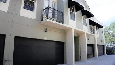 Hillsborough County Townhouse For Sale: 3210 W Horatio Street #12