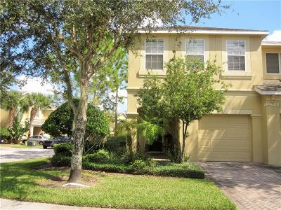 Hillsborough County Townhouse For Sale: 9218 Stone River Place