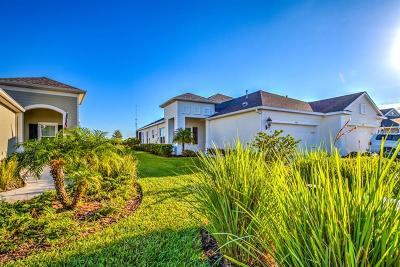Apollo Beach Villa For Sale: 7334 Parkshore Dr