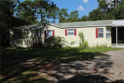 Spring Hill Mobile/Manufactured For Sale: 3303 Olson Road