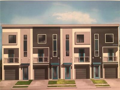 Tampa Townhouse For Sale: 1513 N Morgan Street #A