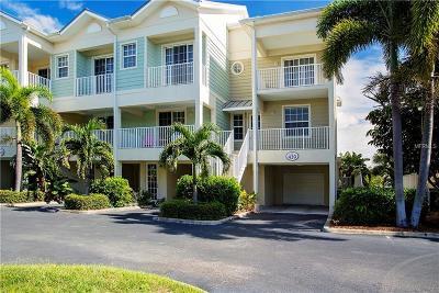 Ruskin Townhouse For Sale: 439 Bahia Beach Boulevard