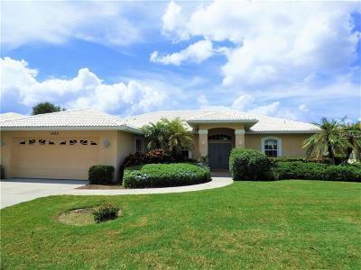 Venice Single Family Home For Sale: 1425 Brenner Park Drive