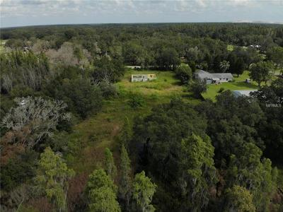 Plant City Residential Lots & Land For Sale: 3207 Bruton Road