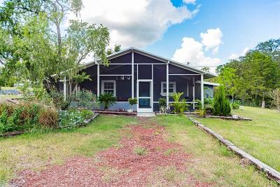 Hernando County, Hillsborough County, Pasco County, Pinellas County Single Family Home For Sale: 40832 River Road