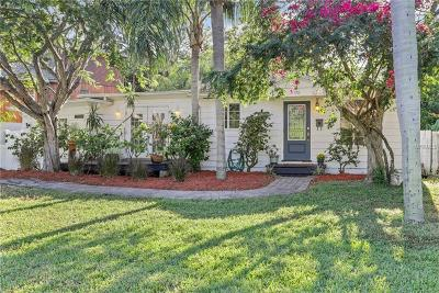 St Petersburg Single Family Home For Sale: 8438 Riverside Drive N