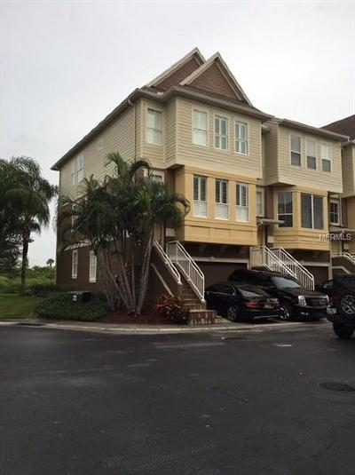 Tampa Townhouse For Sale: 4314 Spinnaker Cove Lane
