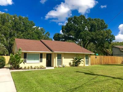 Lutz Single Family Home For Sale: 18909 Geraci Road