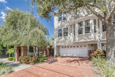 Tampa Townhouse For Sale: 3315 W De Leon Street #1