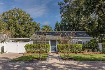 Tampa Single Family Home For Sale: 607 W Henry Avenue