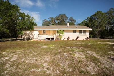 New Port Richey Single Family Home For Sale: 12651 Tinley Road