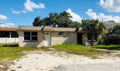 Tampa Multi Family Home For Sale: 9809 N Myrtle Street #A-B