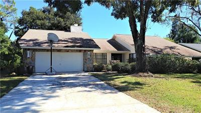 Plant City Single Family Home For Sale: 1806 Country Club Court