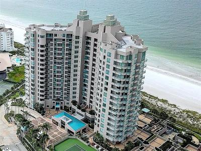 Clearwater, Clearwater Beach Condo For Sale: 1560 Gulf Boulevard #1704