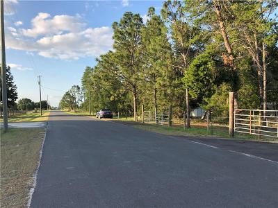 Howey In The Hills Residential Lots & Land For Sale: 24734 Turkey Lake Road