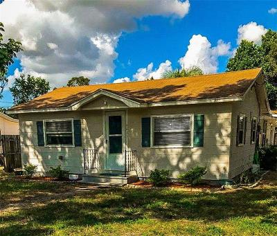 St Petersburg, Clearwater Single Family Home For Sale: 4611 42nd Avenue N