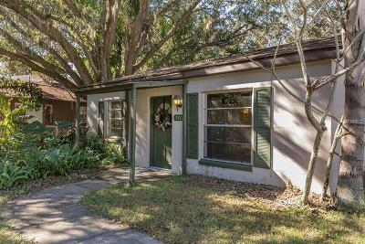 Hillsborough County Single Family Home For Sale: 7422 Bay Drive