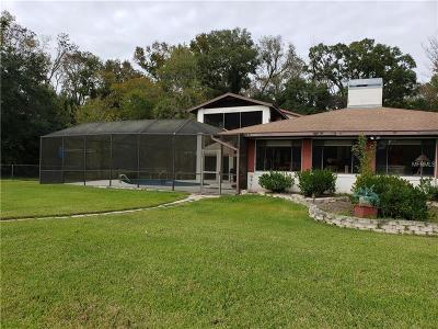 Homosassa Single Family Home For Sale: 9770 W Halls River Road