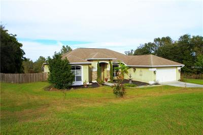 Dade City Single Family Home For Sale: 36831 Open Country Lane