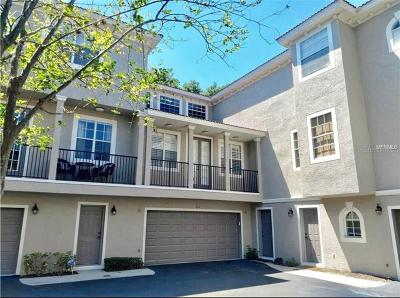 Tampa Townhouse For Sale: 2613 Espana Court