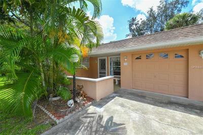 Venice Single Family Home For Sale: 344 E Seminole Drive