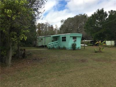 Lutz Mobile/Manufactured For Sale: 17301 Simmons Road