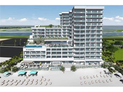 Clearwater Beach, Indian Rocks Beach, Indian Shores, Redington Beach, Redington Shores, Madeira Beach, Treasure Island, Tierra Verde, Belleair Beach, St. Pete Beach, Treasure Island  Condo For Sale: 691 S Gulfview Boulevard #1124