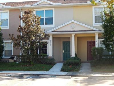 Wesley Chapel Townhouse For Sale: 30321 Elderwood Drive
